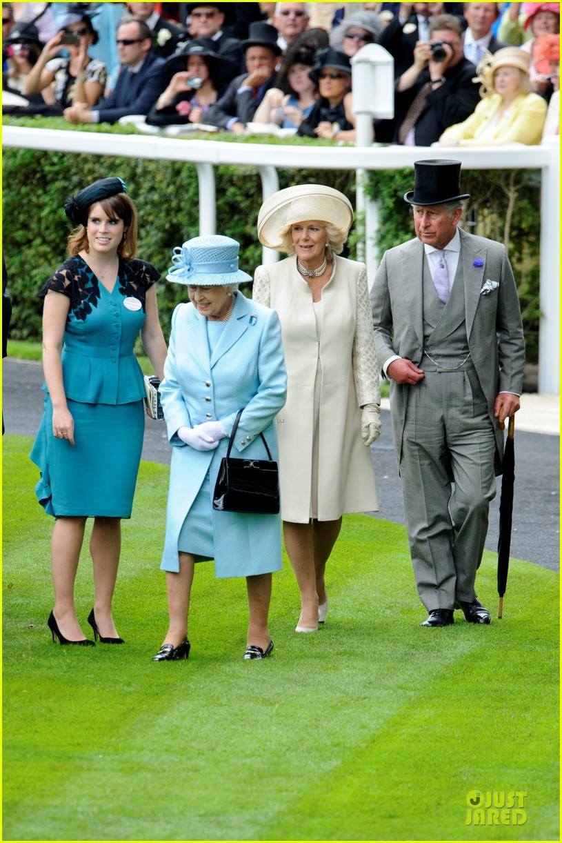 queen elizabeth royal ascot prince william rhino 022677075