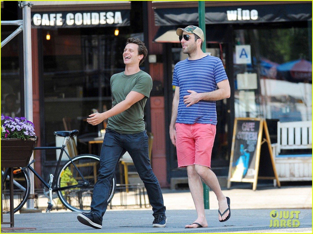 zachary quinto west village walk jonathan groff 01