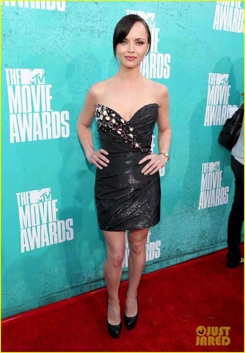 christina ricci 2012 mtv movie awards 022670081