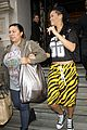 rihanna tiger print skirt london 06