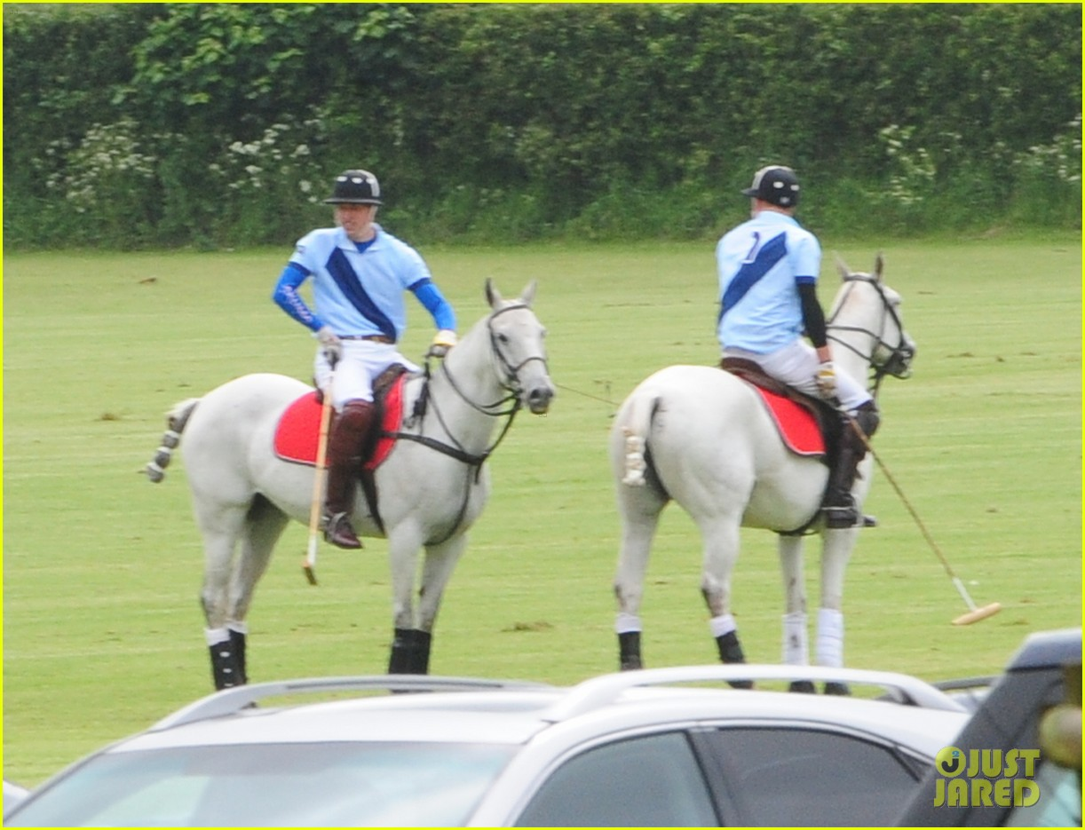 princes harry william charity polo match 05