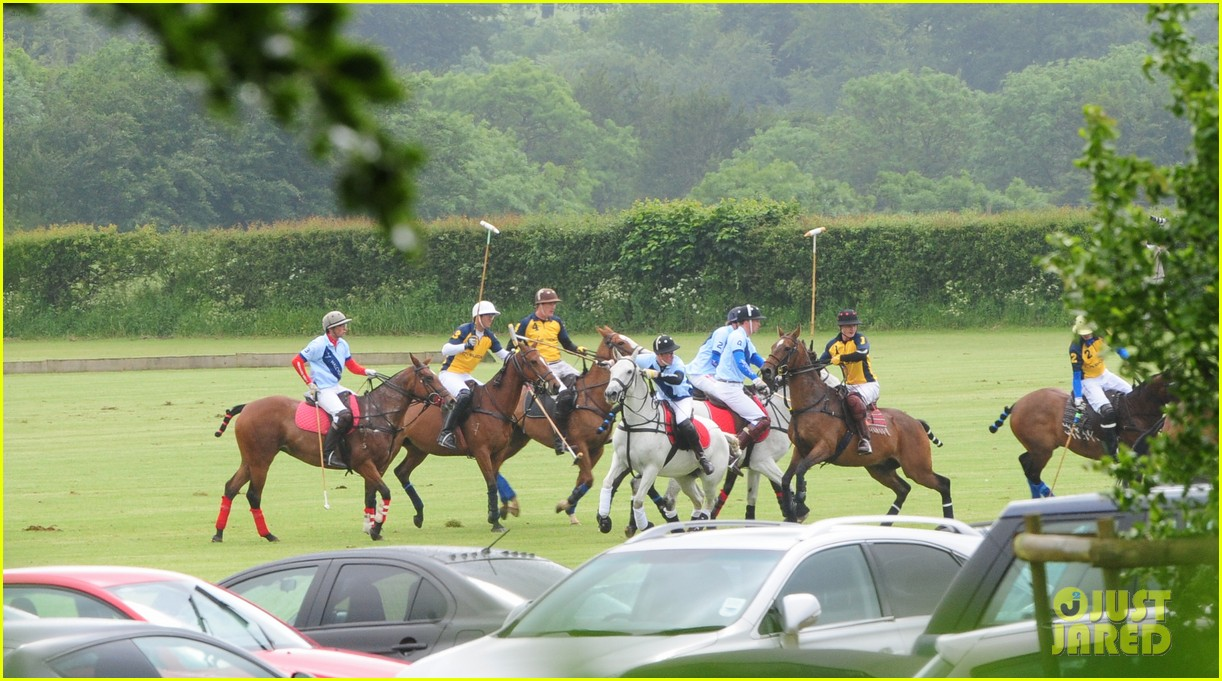 princes harry william charity polo match 07