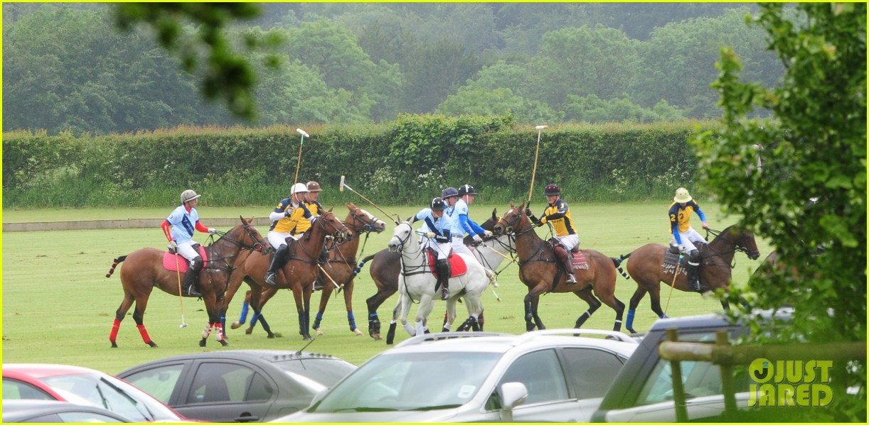 princes harry william charity polo match 082675876