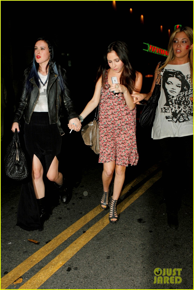 rumer willis sayers club 08