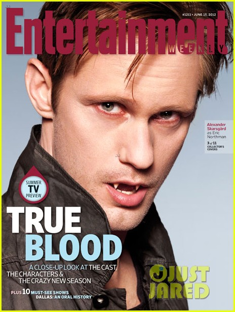 alexander skarsgard true blood cast covers entertainment weekly 012671576