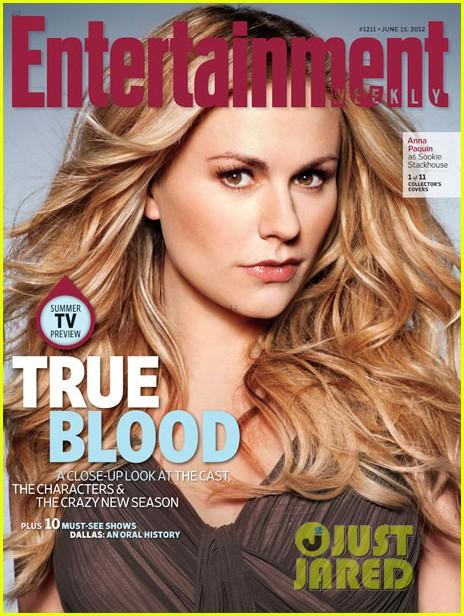 alexander skarsgard true blood cast covers entertainment weekly 022671577