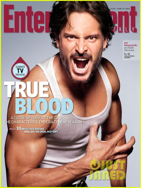 alexander skarsgard true blood cast covers entertainment weekly 042671579