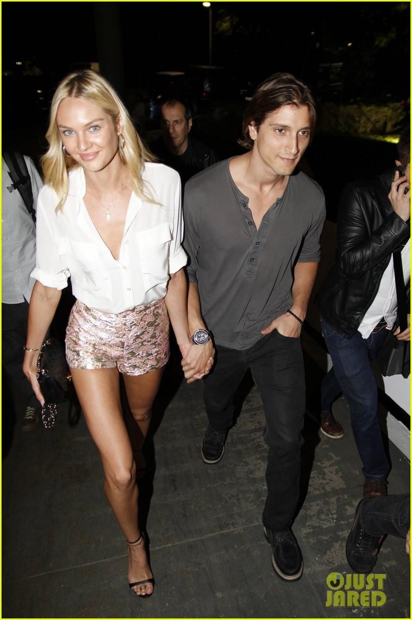 Candice Swanepoel and Hermann Nicoli at the Colcci after ...