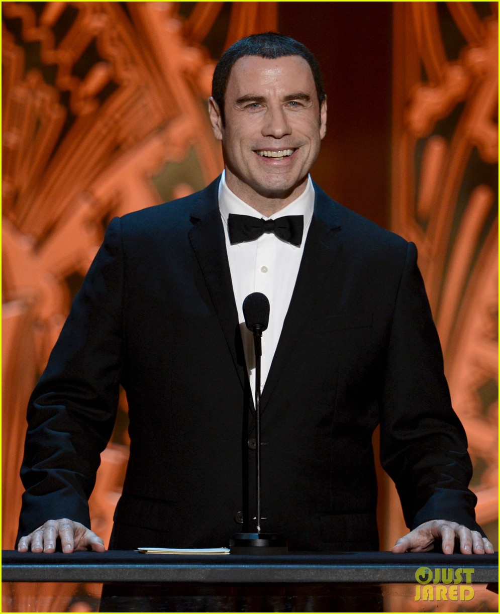 john travolta afi life achievement 07