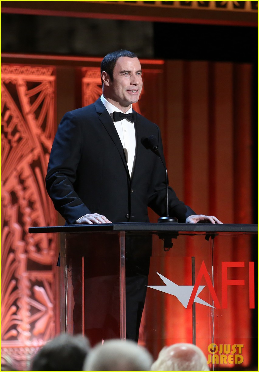 john travolta afi life achievement 09
