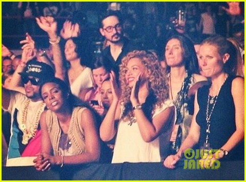 beyonce gwyneth paltrow watch the throne 01