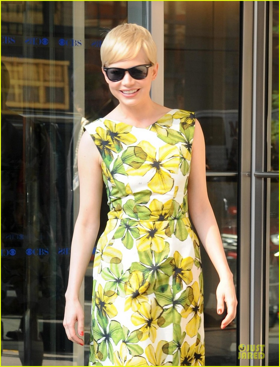 michelle williams cbs this morning 022677838