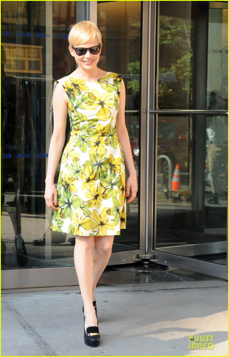 michelle williams cbs this morning 03