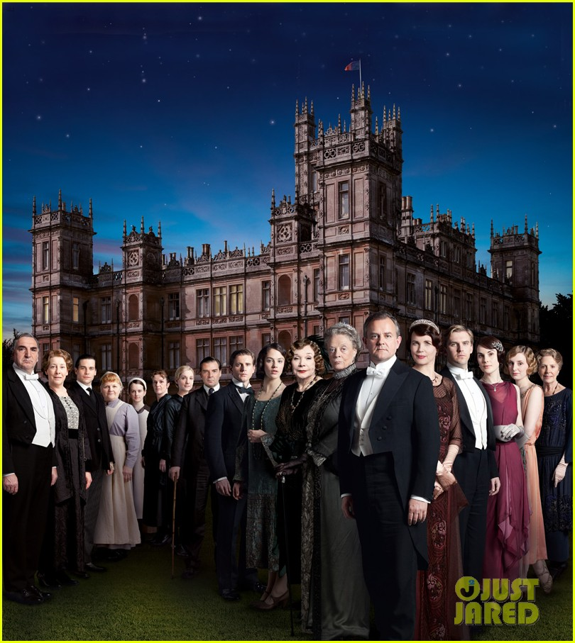 downton abbey season 3 cast photo first look 012690364