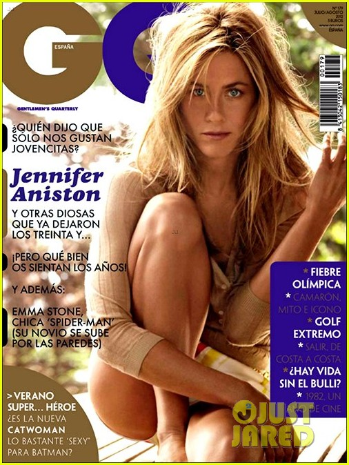 jennifer aniston gq spain july august 2012