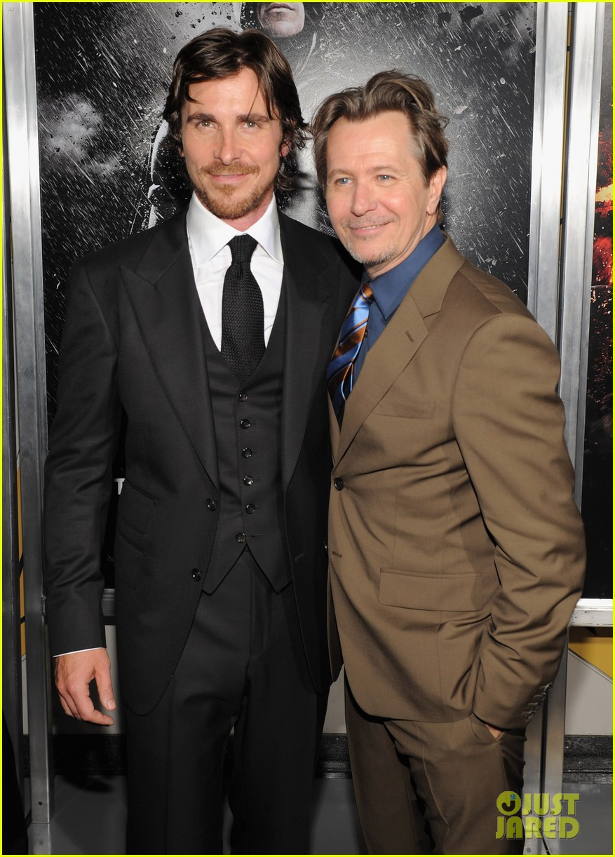 Christian Bale Amp Tom Hardy Dark Knight Rises Premiere