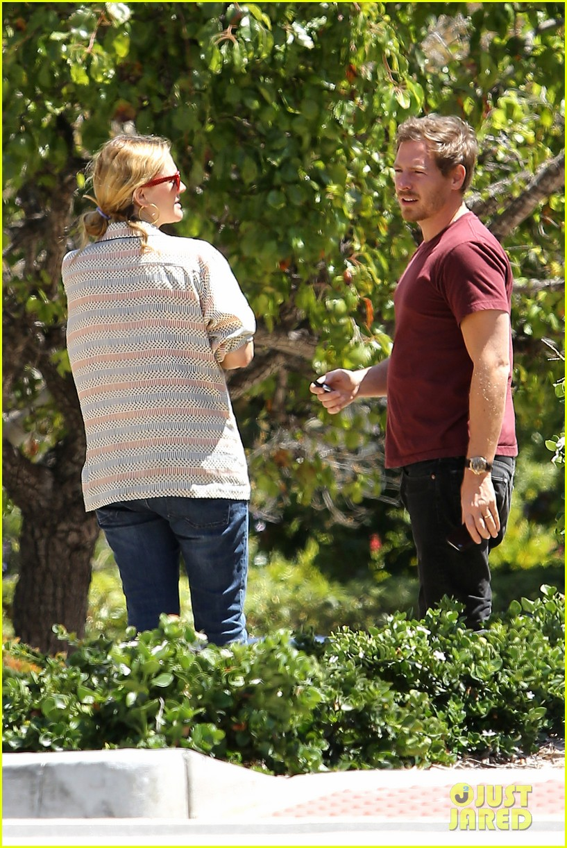 drew barrymore candle shopping with will kopelman 032683672