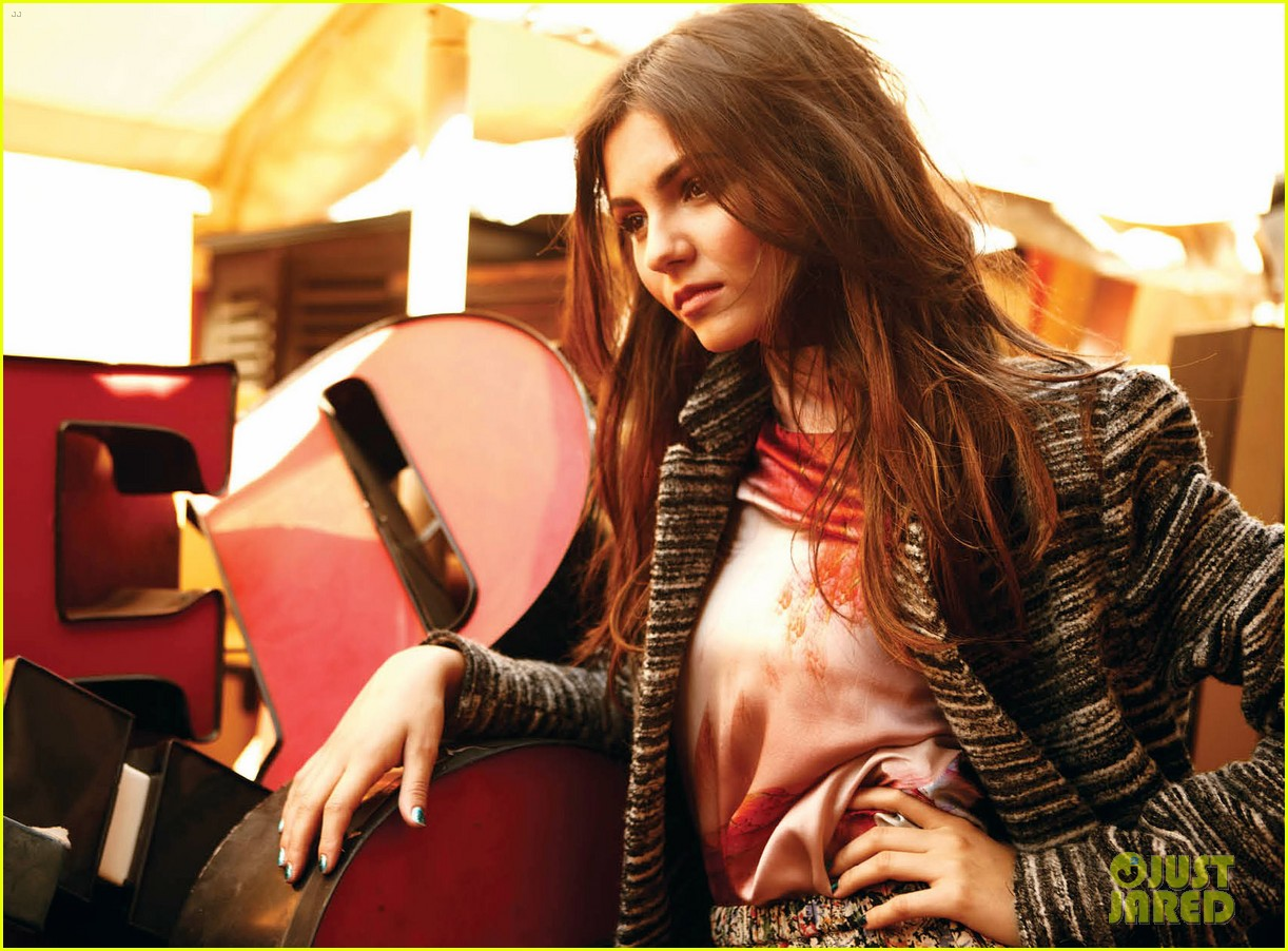 drew barrymore photographs victoria justice for v 02
