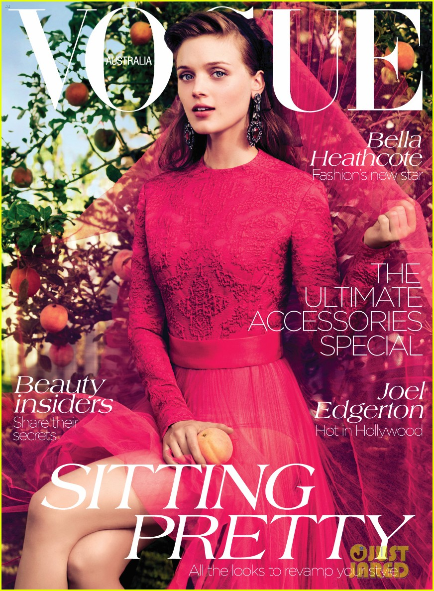 8aa11f04fd8a2 Bella Heathcote Covers  Vogue Australia  September 2012  Photo ...
