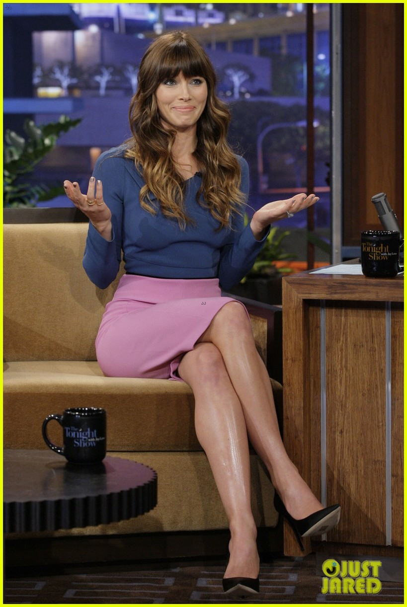 jessica biel tonight show with jay leno 022692401
