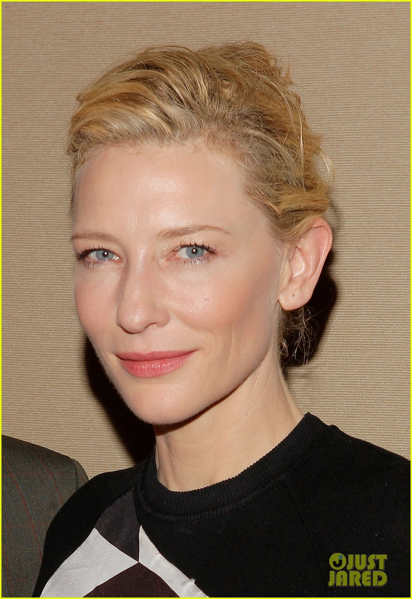 cate blanchett uncle vanya photo call with andrew upton 02
