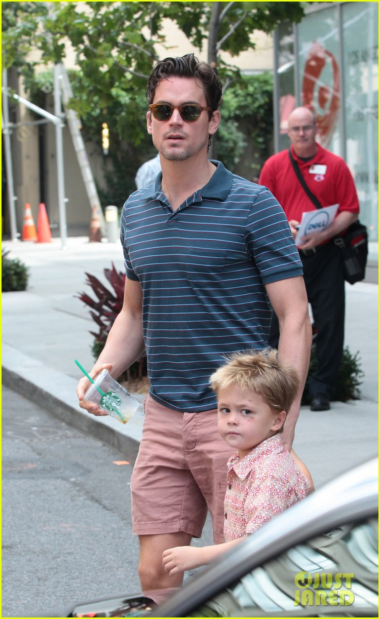 matt bomer hails a cab with henry walker 062692923