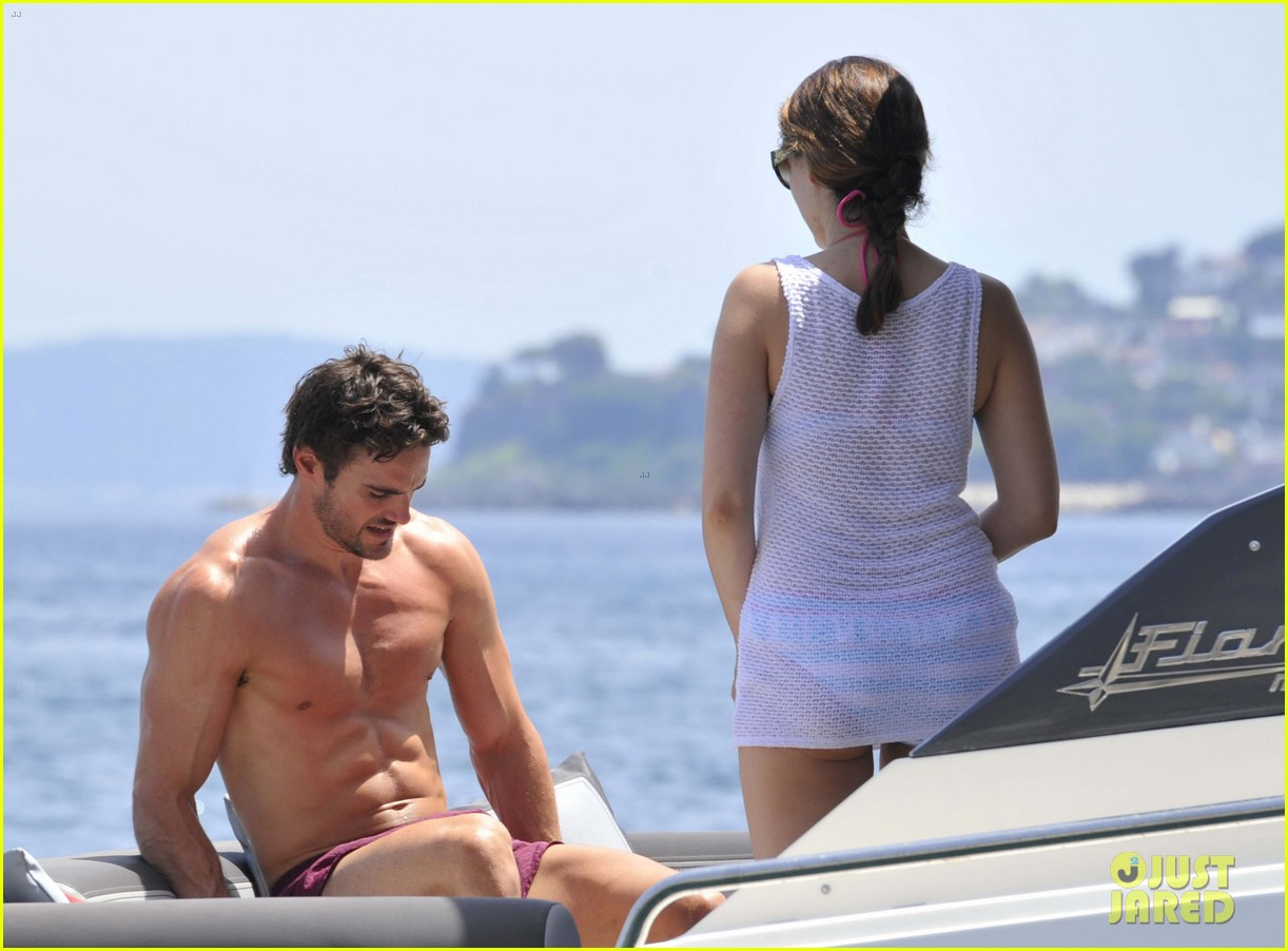 kelly brook thom evans ischia boat ride 052686448