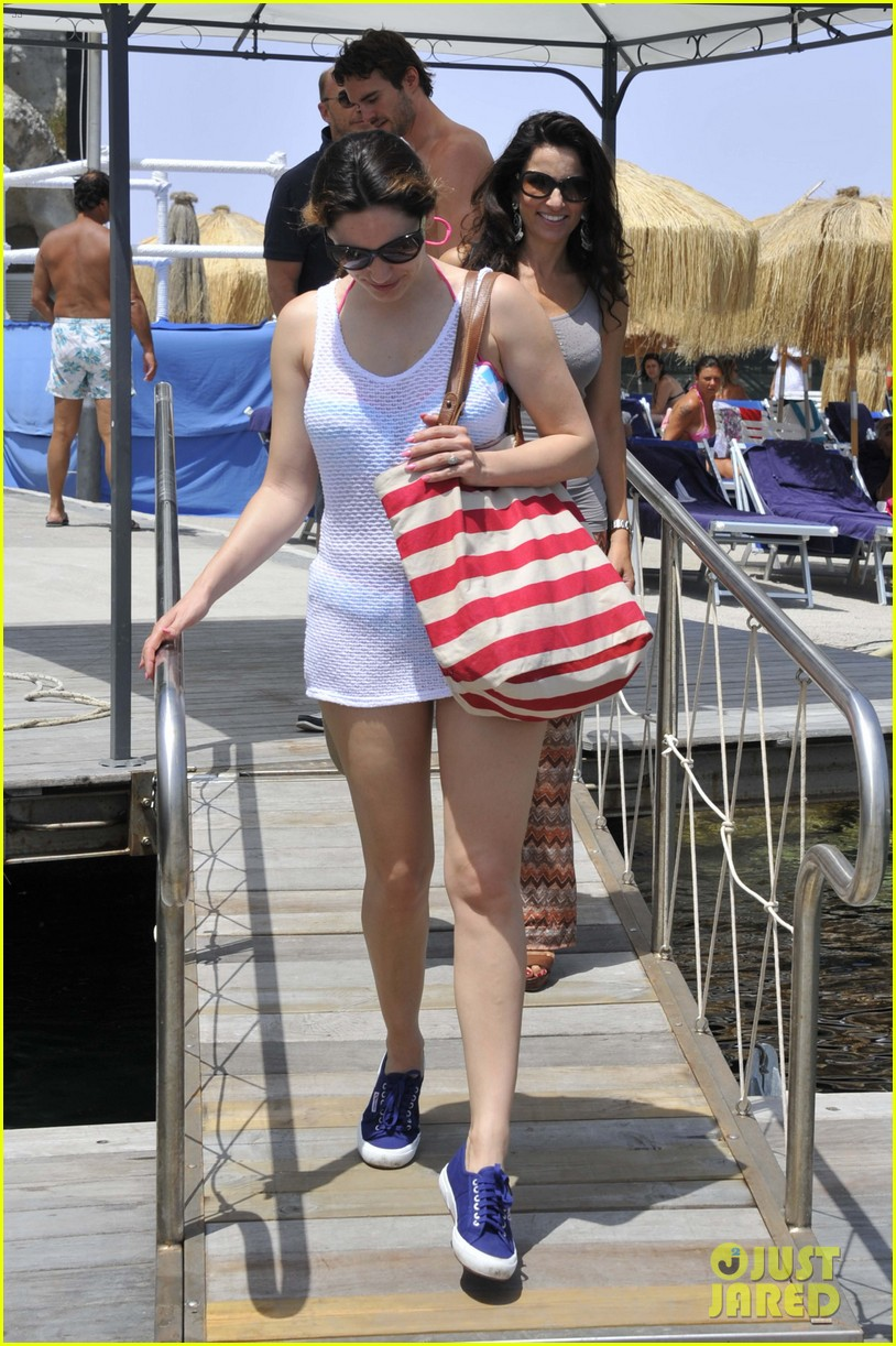 kelly brook thom evans ischia boat ride 232686466