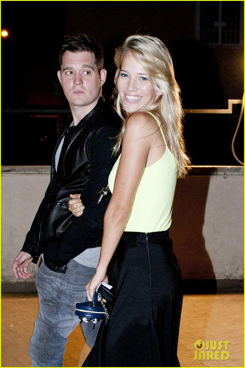 michael buble luisana lopilato playful parioli pair 022691388