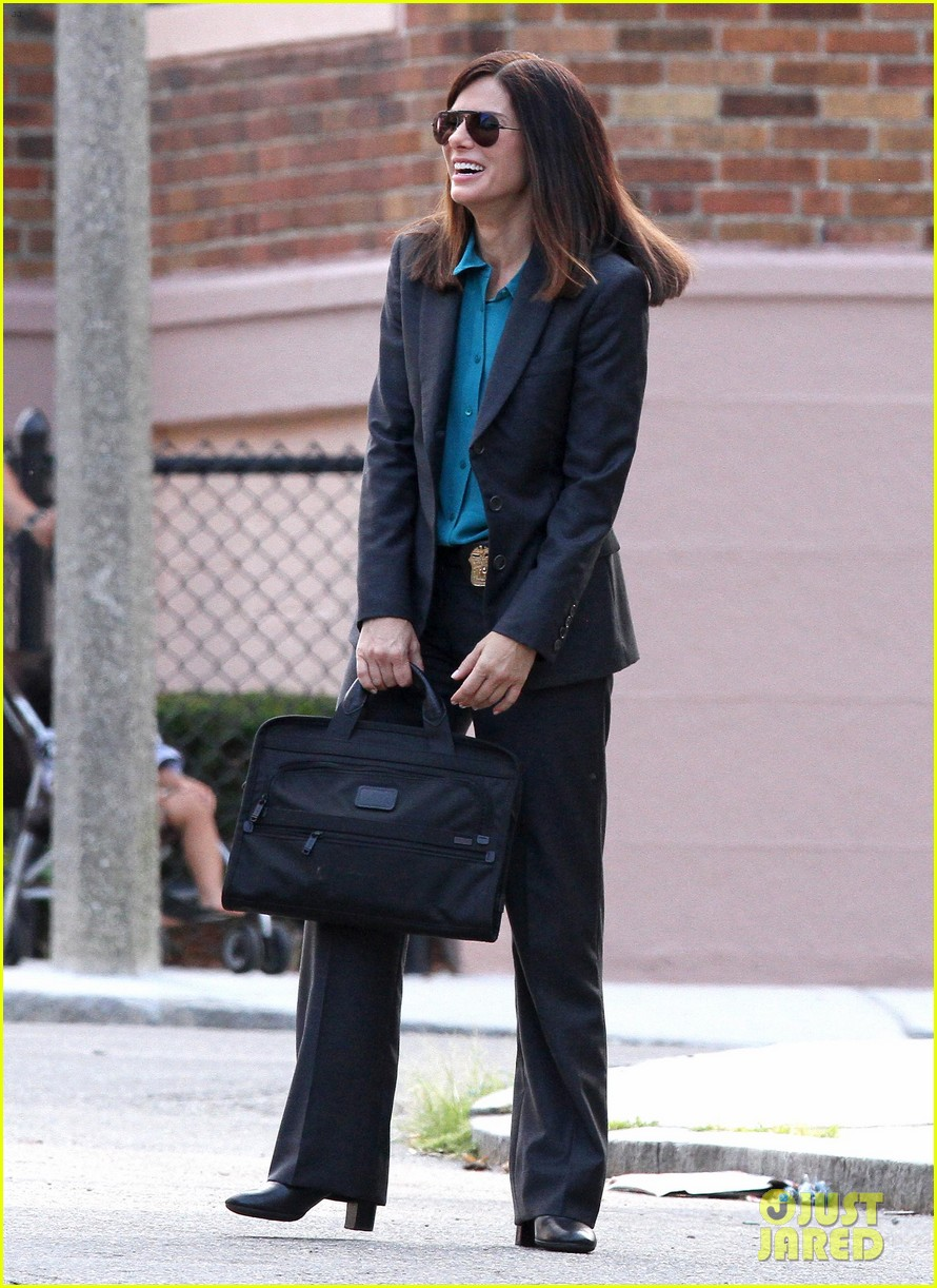 sandra bullock the heat set with melissa mccarthy 012689695