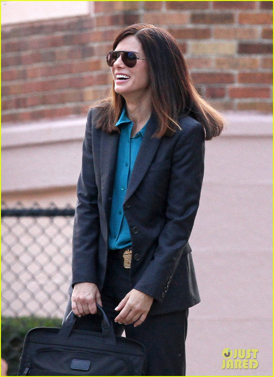 sandra bullock the heat set with melissa mccarthy 072689701