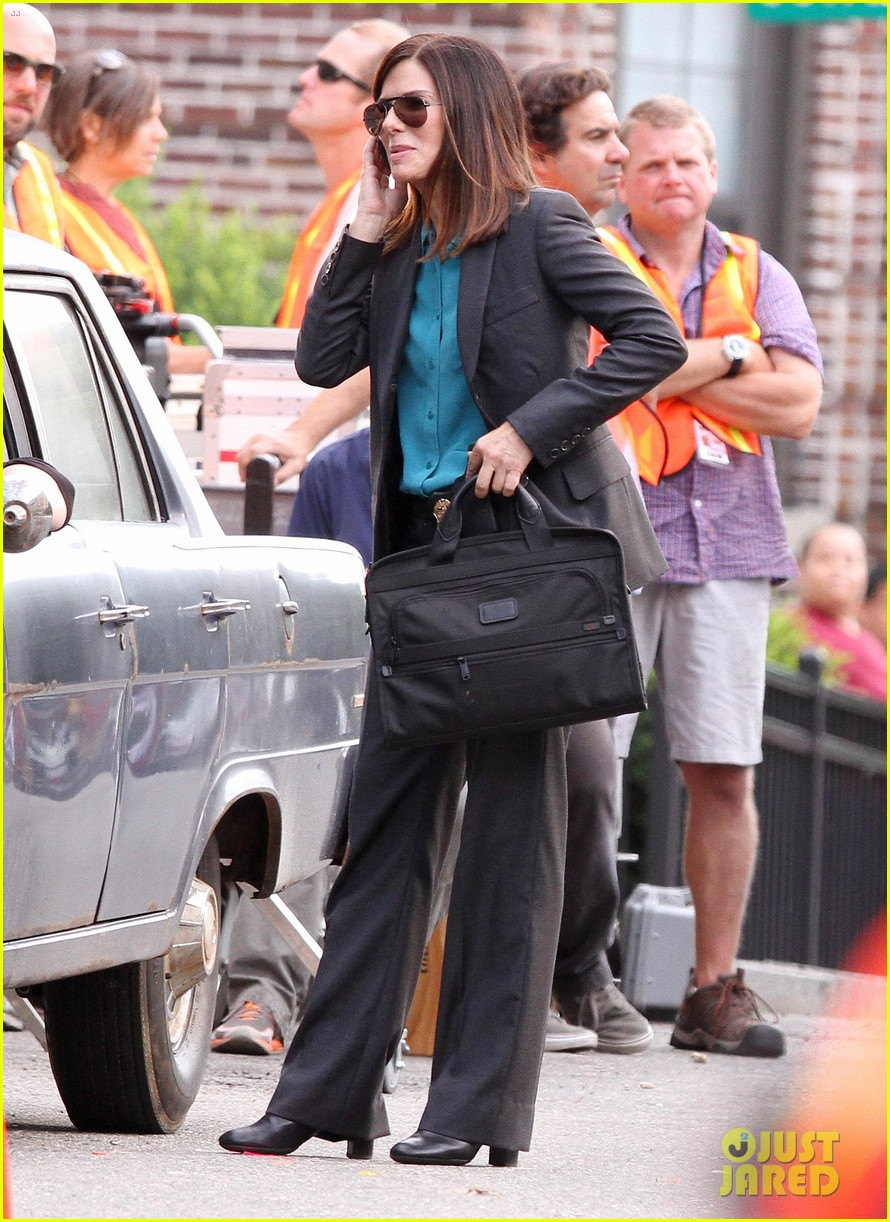 sandra bullock the heat set with melissa mccarthy 082689702