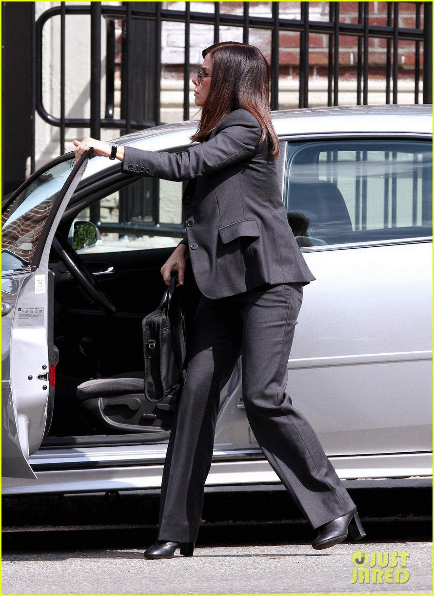 sandra bullock the heat set with melissa mccarthy 112689705