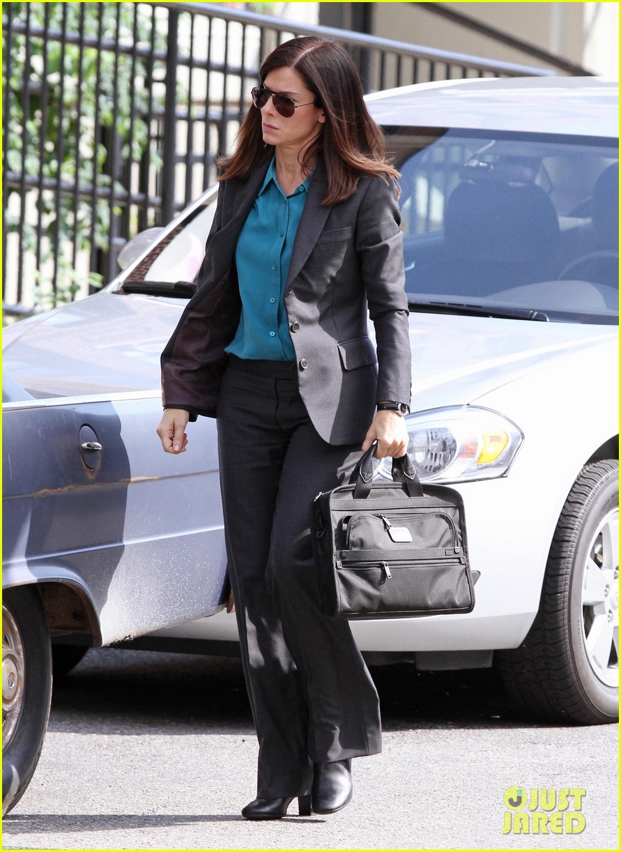 sandra bullock the heat set with melissa mccarthy 162689710