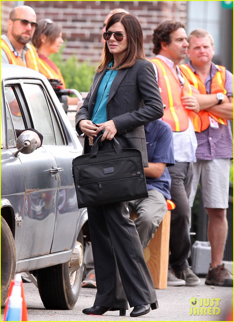 sandra bullock the heat set with melissa mccarthy 182689712