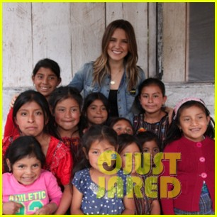 sophia bush charity work 01