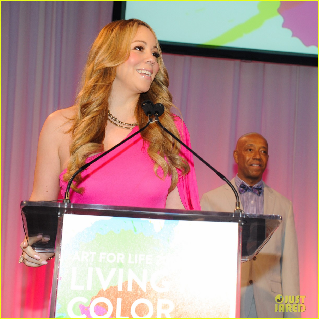 mariah carey art for life gala with nick cannon 042694764