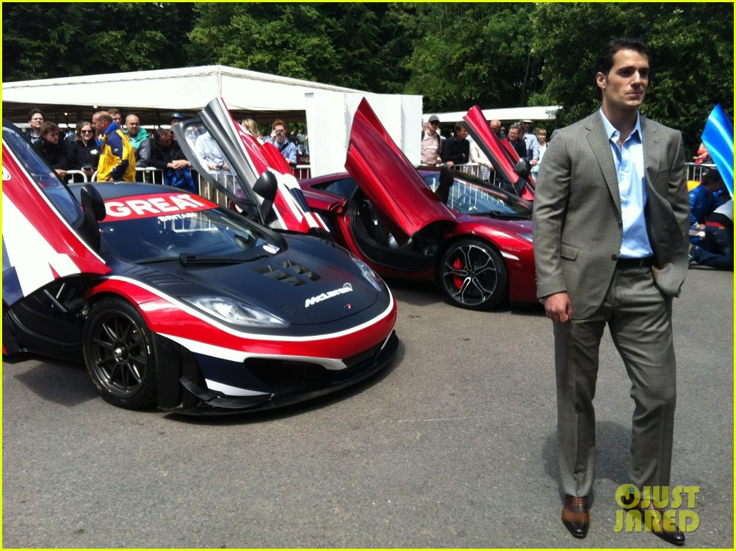 henry cavill goodwood festival of speed 012684748