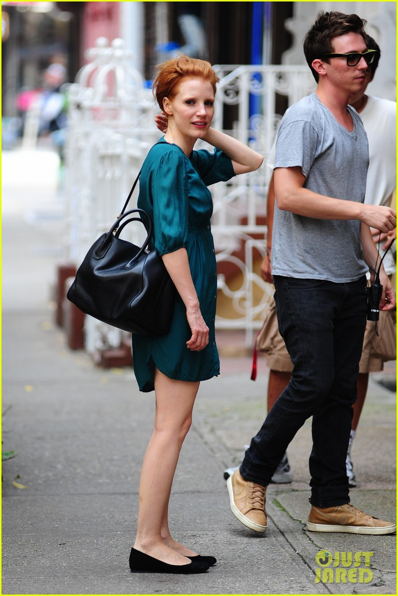 jessica chastain viola davis eleanor rigby set 04