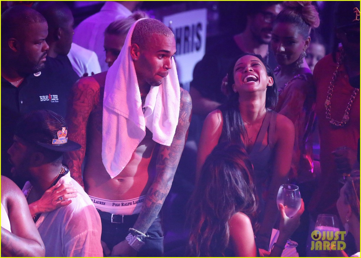 chris brown shirtless gotha club cannes 09