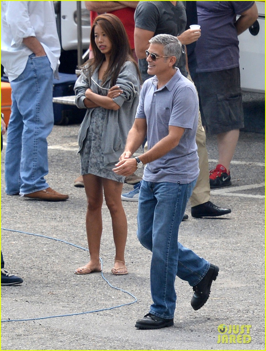george clooney films car commercial in italy 082694495