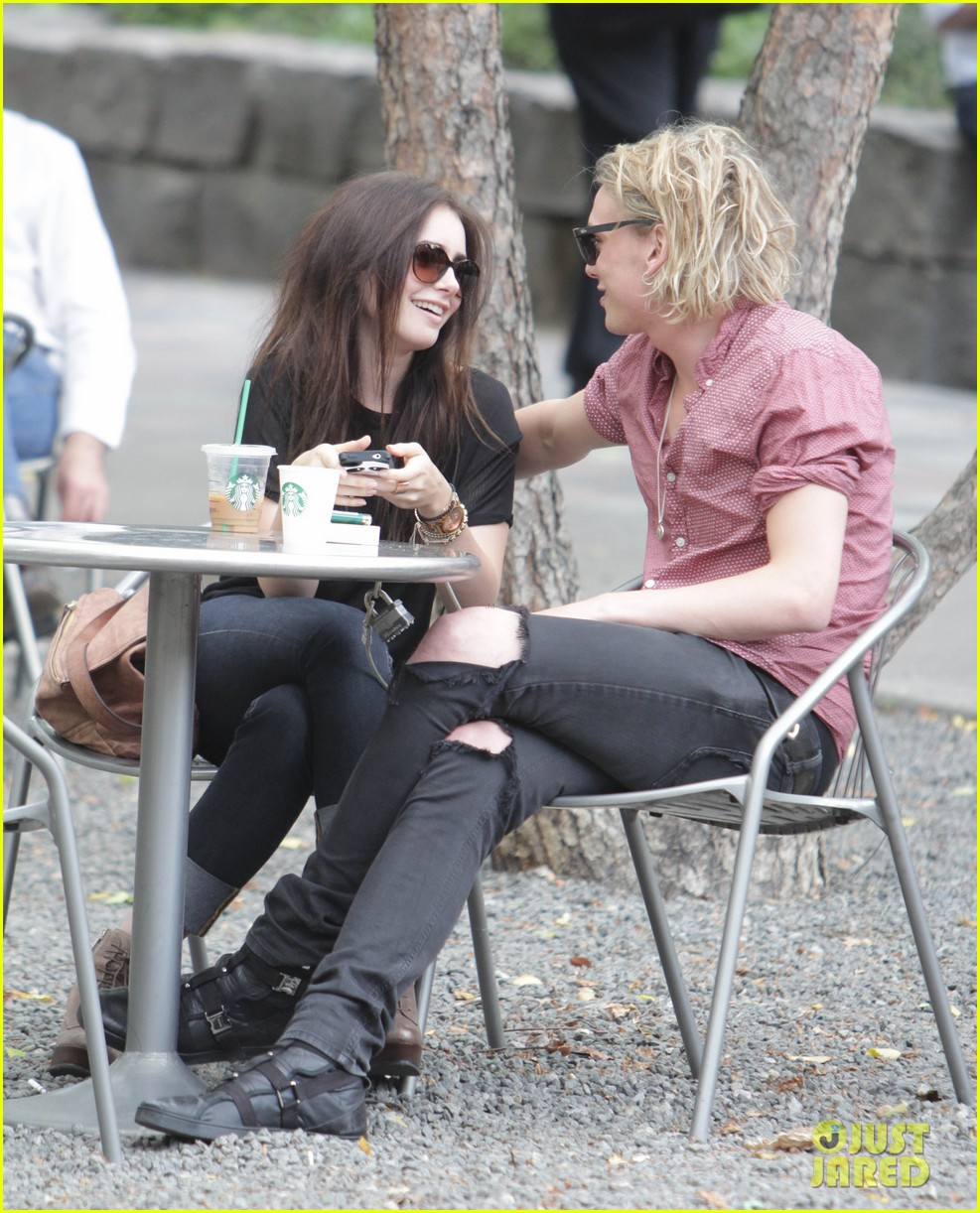 lily collins jamie campbell bower hold hands toronto 022685144