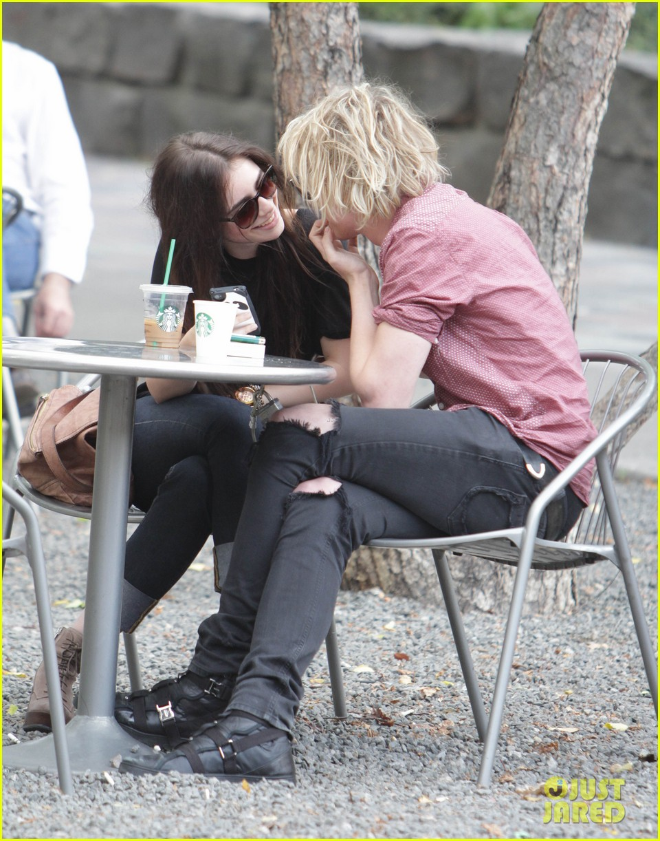 lily collins jamie campbell bower hold hands toronto 062685148