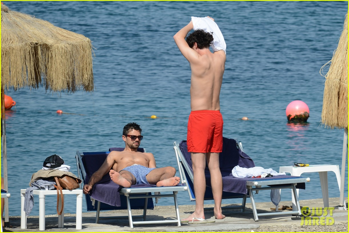 dominic cooper shirtless pda filled vacation with ruth negga 112686418
