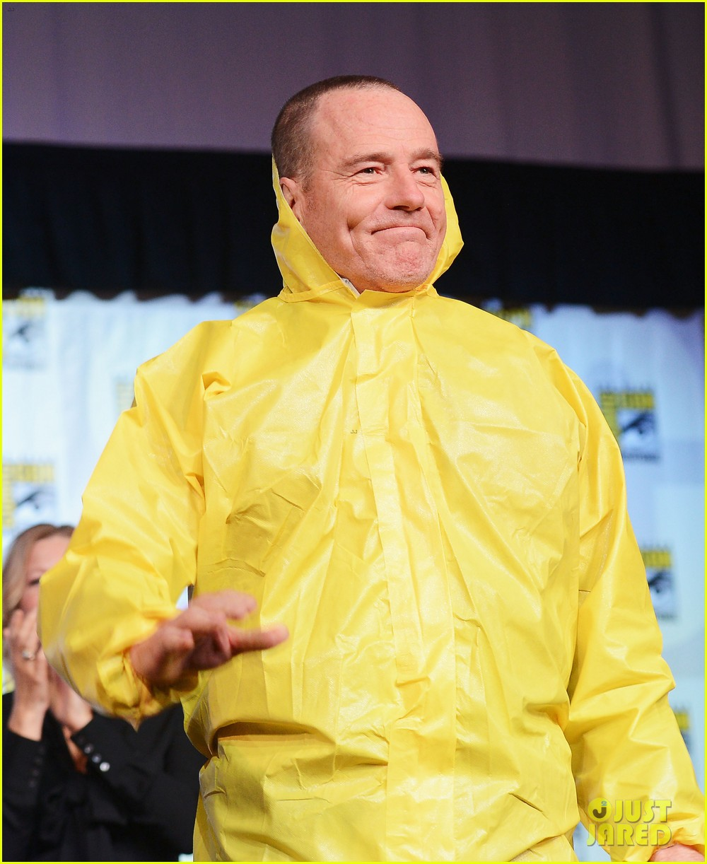 aaron paul bryan cranston breaking bad at comic con 012687574