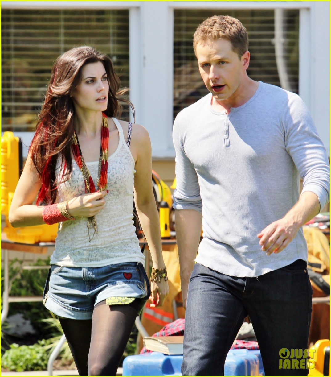 josh dallas once upon a time filming 092689480