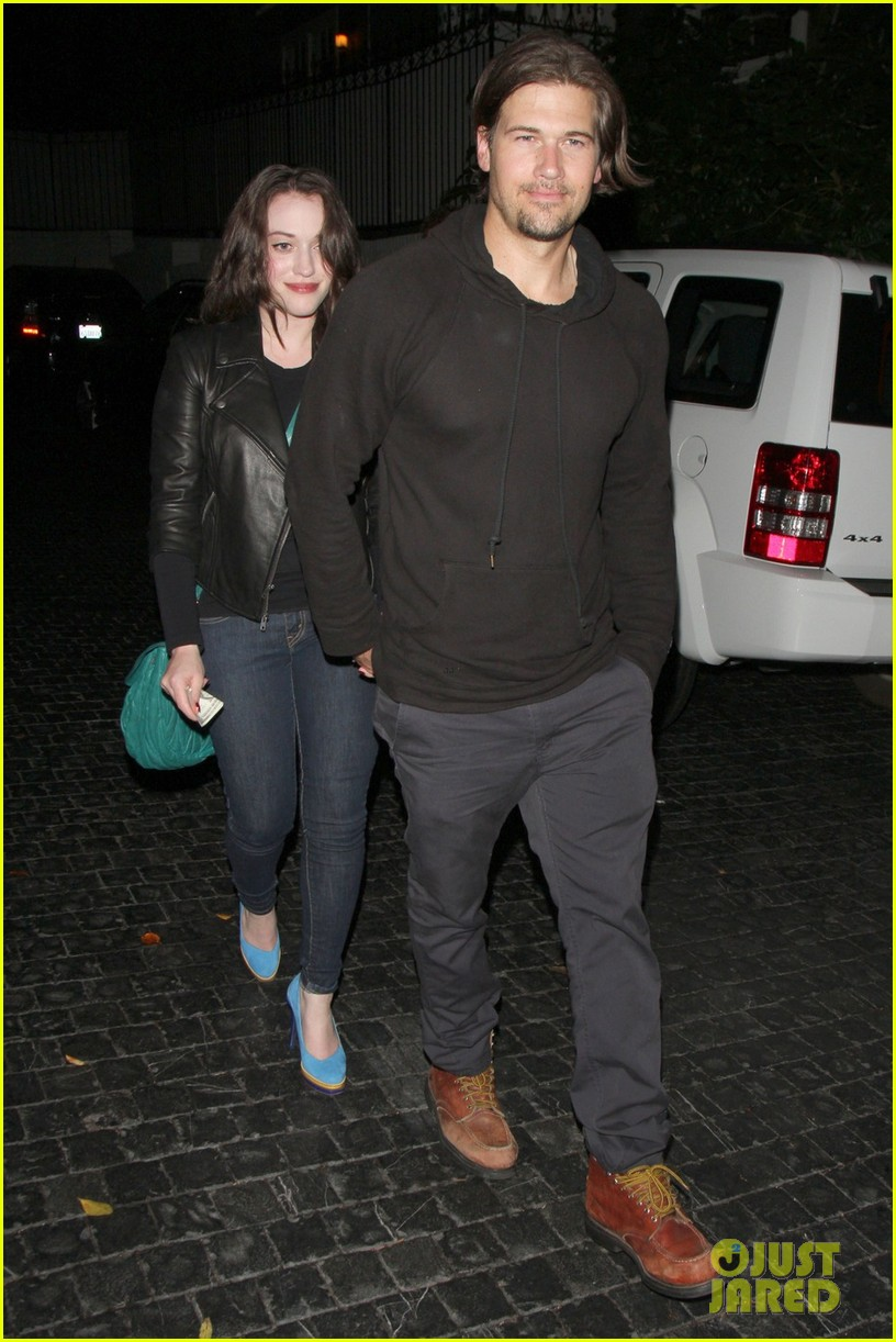kat dennings chateau marmont with nick zano 012681639