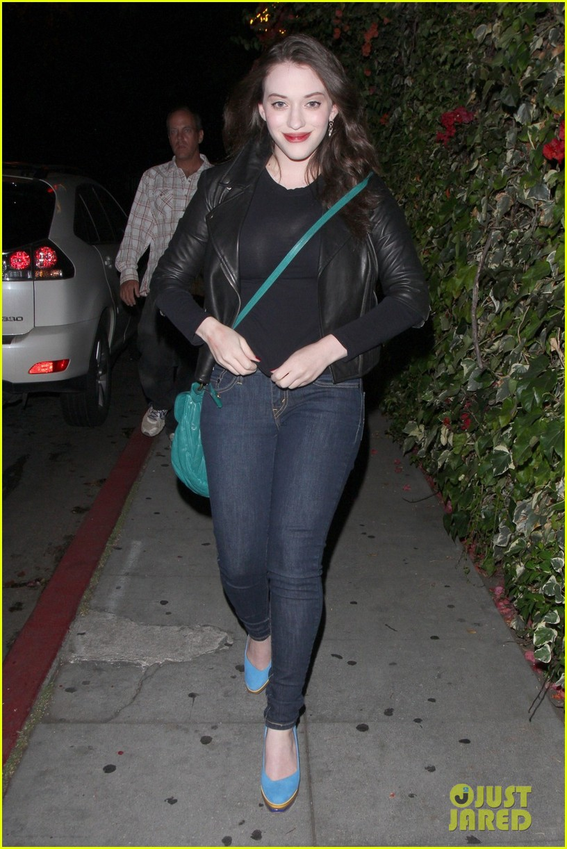 kat dennings chateau marmont with nick zano 04