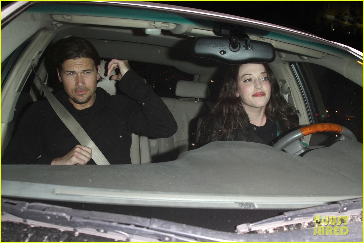 kat dennings chateau marmont with nick zano 072681645