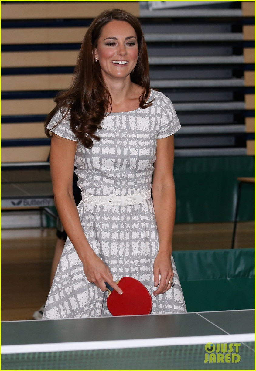 duchess kate middleton ping pong 23